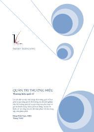Giáo trình Quản trị thương hiệu - Thương hiệu quốc tế - Đặng Đình Trạm