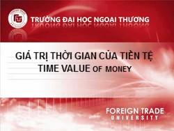 Bài giảng Thị trường chứng khoán - Chương 2: Giá trị thời gian của tiền tệ - Nguyễn Thị Thu Huyền