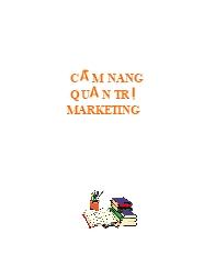 Cẩm nang Quản trị marketing