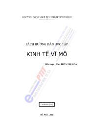 Tài liệu Kinh tế vĩ mô - Trần Thị Hòa